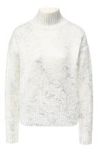 BOSS | Вязаный пуловер с высоким воротником BOSS | Clouty