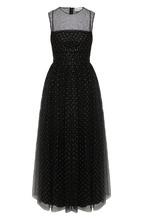 VALENTINO RED | Приталенное платье-миди с декоративной отделкой REDVALENTINO | Clouty