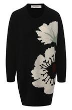VALENTINO | Кашемировый пуловер с вышитым принтом Valentino | Clouty