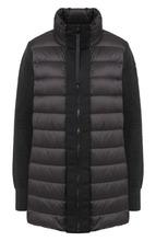 MONCLER | Пуховая куртка с воротником-стойкой Moncler | Clouty