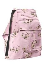 KENZO | Мини-юбка с запахом и принтом Kenzo | Clouty