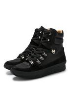 Isabel Marant | Высокие комбинированные кроссовки Brendta на шнуровке Isabel Marant | Clouty