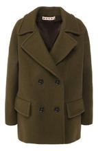 Marni | Двубортное шерстяное пальто Marni | Clouty