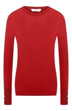 BOSS | Шерстяной пуловер с круглым вырезом BOSS | Clouty