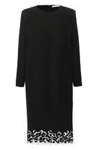 GIVENCHY | Платье прямого кроя с кружевной вставкой Givenchy | Clouty