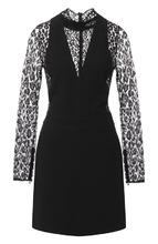 GIVENCHY | Шерстяное платье с воротником-стойкой Givenchy | Clouty