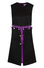 Versus | Мини-платье с декоративной отделкой Versus Versace | Clouty