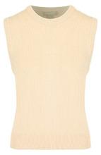 MICHAEL KORS | Кашемировый жилет с круглым вырезом Michael Kors Collection | Clouty