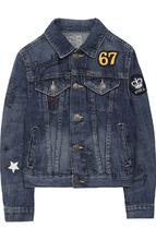 POLO RALPH LAUREN | Джинсовая куртка с нашивками Polo Ralph Lauren | Clouty
