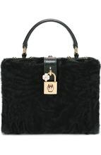 Dolce & Gabbana | Сумка Dolce Box с меховой отделкой Dolce & Gabbana | Clouty
