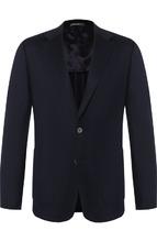 BOSS | Однобортный пиджак из кашемира BOSS | Clouty