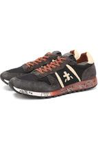 Premiata | Комбинированные кроссовки на шнуровке Premiata | Clouty