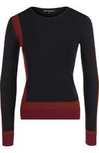 Loro Piana | Пуловер с круглым вырезом из смеси кашемира и шелка Loro Piana | Clouty