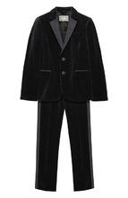 Il Gufo | Бархатный костюм из пиджака и брюк Il Gufo | Clouty