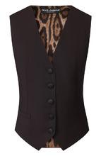 Dolce & Gabbana | Шерстяной жилет на пуговицах Dolce & Gabbana | Clouty