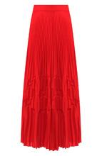 GIVENCHY | Однотонная плиссированная юбка-миди Givenchy | Clouty