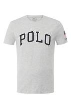 POLO RALPH LAUREN | Хлопковая футболка с нашивками Polo Ralph Lauren | Clouty