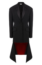 Alexander McQueen | Удлиненный жакет из смеси шерсти и шелка Alexander McQueen | Clouty