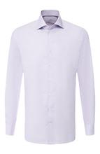 Van Laack | Хлопковая сорочка с воротником кент Van Laack | Clouty