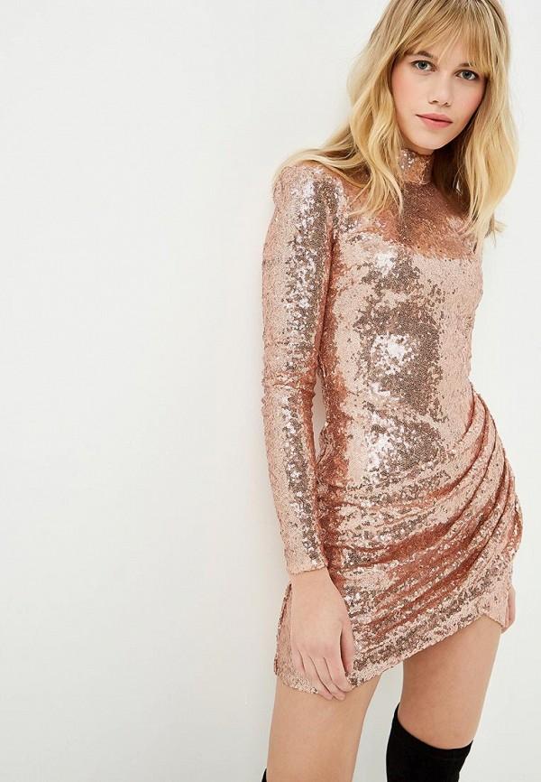 Goddiva | золотой Платье | Clouty