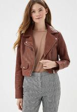 MANGO   Куртка кожаная   Clouty