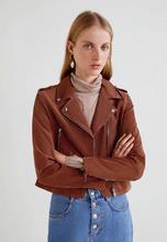 MANGO | Куртка кожаная | Clouty