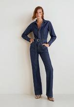 MANGO | Комбинезон джинсовый | Clouty