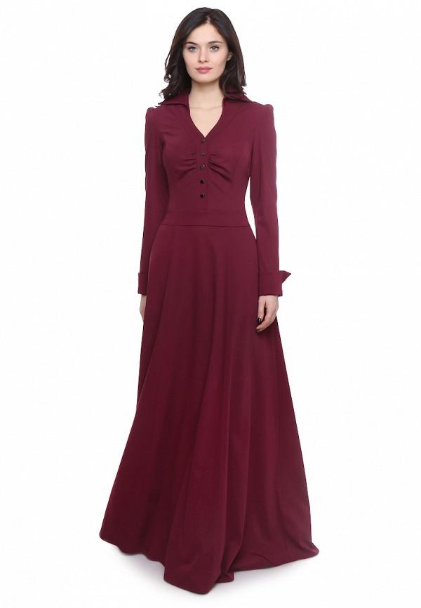 Olivegrey   бордовый Платье   Clouty