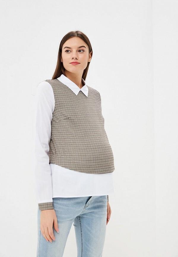 Очаровательная Адель | бежевый Блуза | Clouty