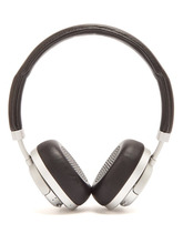 Master & Dynamic | Master & Dynamic - Mw50 Leather On Ear Wireless Headphones - Mens - Black Silver | Clouty