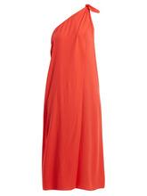 Mara Hoffman | Mara Hoffman - Camilla One Shoulder Dress - Womens - Red | Clouty