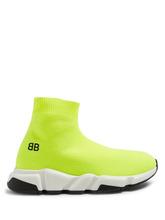 Balenciaga Kids - Unisex Speed Trainers - Yellow | Clouty