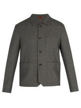 Barena Venezia - Patch Pocket Blazer - Mens - Grey | Clouty
