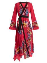 Etro | Etro - Fluorite Printed Silk Dress - Womens - Pink Print | Clouty