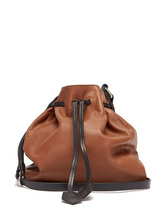 Isabel Marant | Isabel Marant - Beeka Leather Bucket Bag - Womens - Tan | Clouty