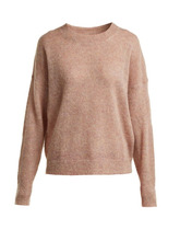 Isabel Marant Étoile | Isabel Marant etoile - Cliftony Mohair Blend Sweater - Womens - Light Pink | Clouty