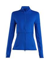 adidas by Stella McCartney | Adidas By Stella Mccartney - Performance Essentials Mid Layer Jacket - Womens - Blue | Clouty