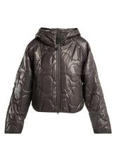 adidas by Stella McCartney | Adidas By Stella Mccartney - Run Hooded Padded Jacket - Womens - Grey Multi | Clouty