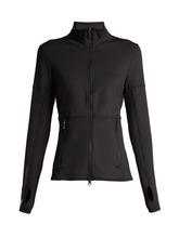 adidas by Stella McCartney | Adidas By Stella Mccartney - Performance Essentials Mid Layer Jacket - Womens - Black | Clouty
