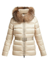 MONCLER | Moncler - Tatie Quilted Down Jacket - Womens - Beige | Clouty