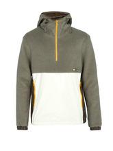 LANVIN | Lanvin - Nylon Panel Fleece Jacket - Mens - Grey | Clouty