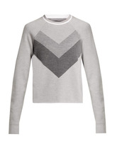 Lndr | Lndr - Flare Cropped Wool Sweater - Womens - Grey | Clouty
