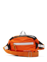 Heron Preston - Logo Embellished Nylon Belt Bag - Mens - Orange | Clouty