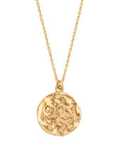 Alighieri - Sagittarius Gold Plated Necklace - Womens - Gold | Clouty