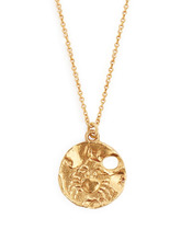 Alighieri - Cancer Gold Plated Necklace - Womens - Gold | Clouty