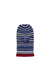 Calvin Klein | Calvin Klein 205w39nyc - Striped Wool Knit Balaclava - Mens - Blue | Clouty