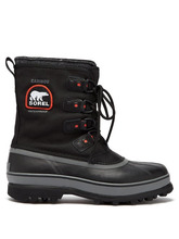 Sorel | Sorel - Caribou Xt Canvas Snow Boots - Mens - Black | Clouty