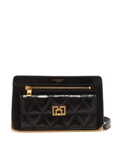GIVENCHY | Givenchy - Pocket Leather Cross Body Bag - Womens - Black | Clouty