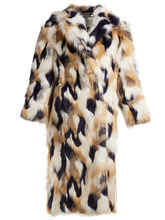 GIVENCHY | Givenchy - Faux Fur Coat - Womens - Multi | Clouty