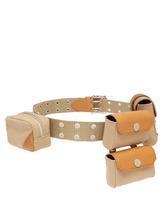 Jw Anderson - Multi Pouch Belt Bag - Womens - Beige | Clouty